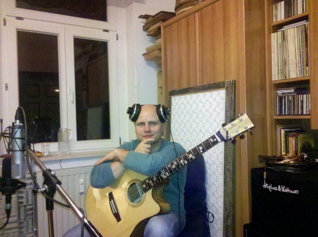 Kopfschmuck für Gitarristen und Recordisten